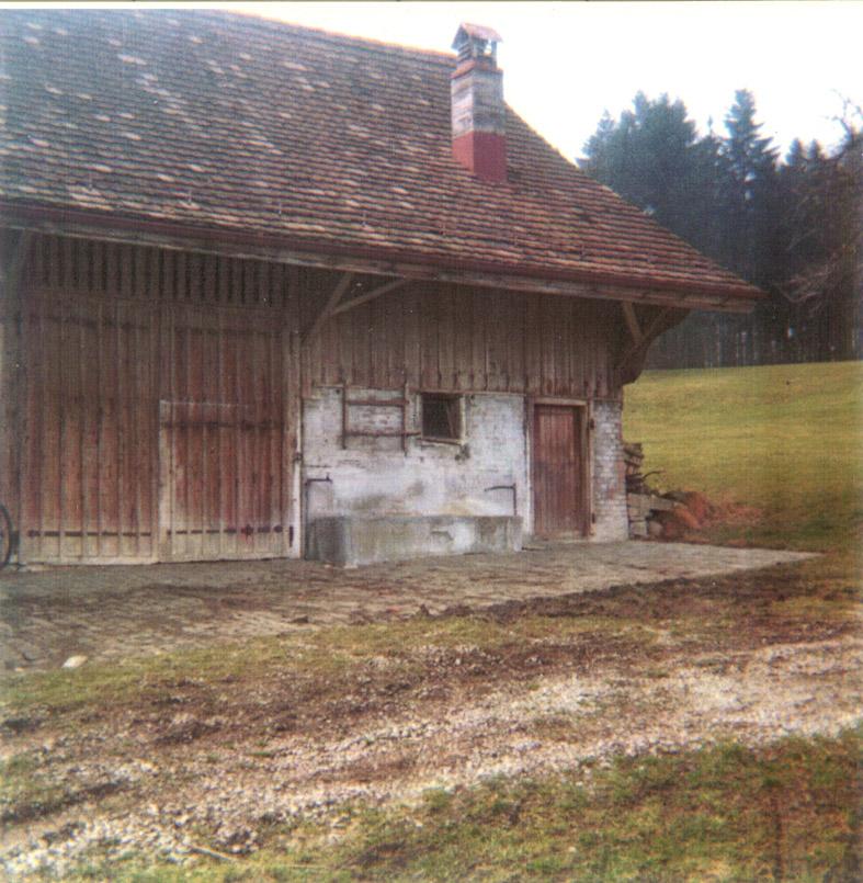 W. KELLER AG, das erste Lager vor 50 Jahren