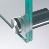 Beschriftung Signaletik Abstandhalter Wandabstandhalter Seilsysteme