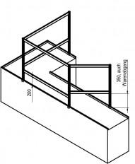Hygieneschutz Trennwandsystem ALU-tech, Ladenbau,