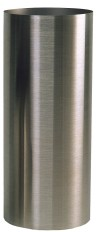Papier-Abfallbehälter 200+255 INOX-line aus Edelstahl