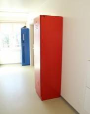 Garderobenschränke und Depotschränke FERRO-line aus Stahl
