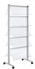 Standmobiliar Garderoben Ausstellungssysteme Prospektständer ALU-line