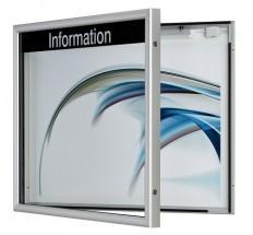 Schaukasten, MItteilungskasten, Informationsvitrine CITY-line 54r