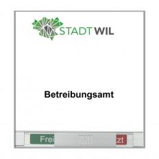 Beschriftung, Signaletik, Orientierungssystem TURIN Türschild Frei-Besetzt aus Edelstahl