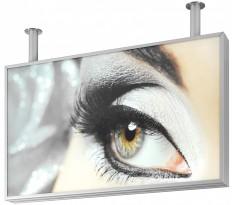 LED-Leuchttransparente, LED-Lichtsysteme und LED-Lichtfelder, LED-Leuchttransparent ALU-lt 100