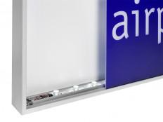 LED-Leuchttransparente, LED-Lichtsysteme, LED-Lichtfelder,LED-Zargenlichtsystem