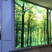 LED-Leuchttransparente, LED-Lichtfelder und LED-Lichtsysteme, LED-Zargenilchtsystem GRAPHIC-light