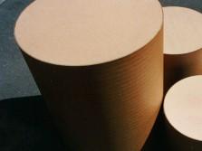 Messebau Dekoration Karton-Dekorohr