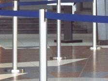 Absperrtechnik Standmobiliar, Absperr- und Leitsysteme GUIDE-line