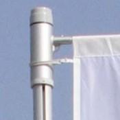 KELLER Qualitäts-Fahnenmasten alfa ZA 75 mit Ausleger