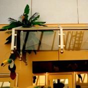 Ladenbau Bistro-Systeme Rohr-Steck-Systeme, Restauranteinrichtung