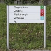 Signaletik, Beschriftung, Schilder- & Mastensystem ALU-info
