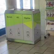 Abfall-Trennsysteme INOX-line, Abfallbehälter, Behälter