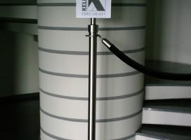 Signaletik, Absperrtechnik, Leitsysteme für den Innenbereich