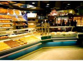 Ladenbau Bistro-Systeme Rohr-Steck-Systeme, Bäckereieinrichtung