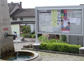 Schaukasten, Informationsvitrine, Mitteilungskasten CITY-line 100e