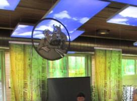 Signaletik, Werbe- & Spanntuchrahmen ALU-tf70 mit LED-Beleuchtung
