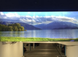 Werbe- & Spanntuchrahmen ALU-tf70 mit LED-Beleuchtung