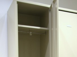 Garderobenschränke und Depotschränke FERRO-line aus geschweisstem Stahlblech